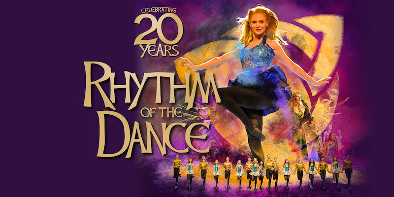 Photo of Rhythm of the Dance at the Waterside Theatre Aylesbury Review