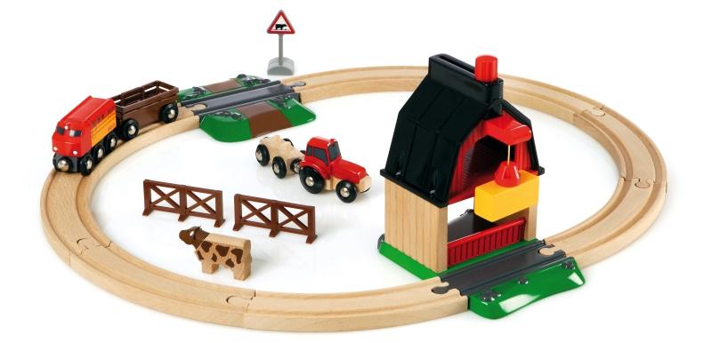 Photo of Brio World Farm Railway Set Review
