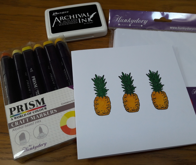 Photo of Hunkydory Crafts Stamping Review