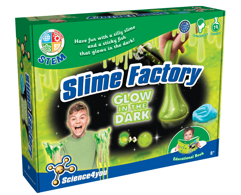 Photo of Science4You Slime Factory Glow in the Dark Review