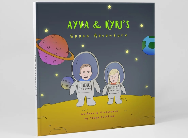 Photo of Swanky Portraits Personalised Space Book Review