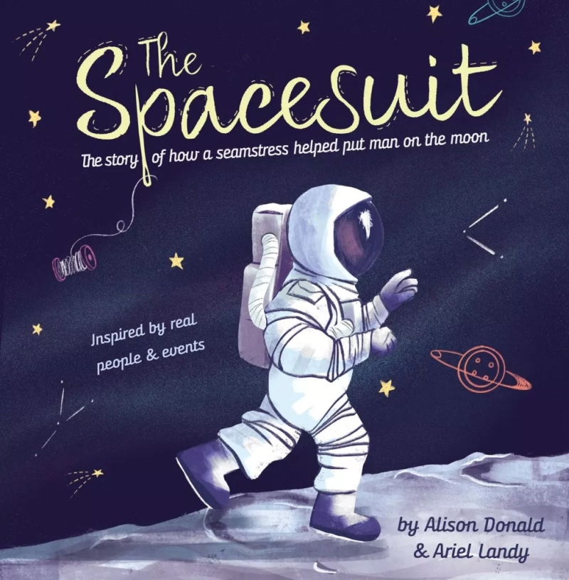 Photo of The Spacesuit by Alison Donald Review