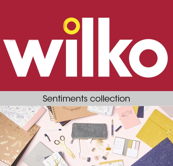 Photo of Wilko Sentiments Stationery Range Review