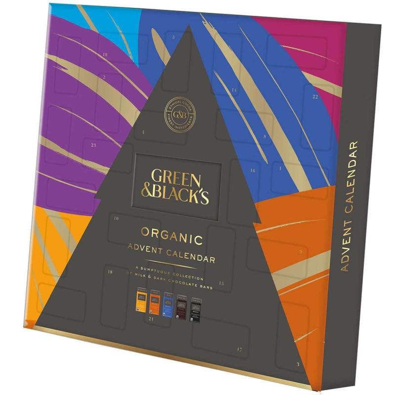 Photo of Green & Black's Organic Chocolate Advent Calendar Review