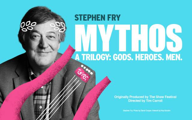 Photo of Stephen Fry – Mythos: Heroes at The Lowy Manchester Review
