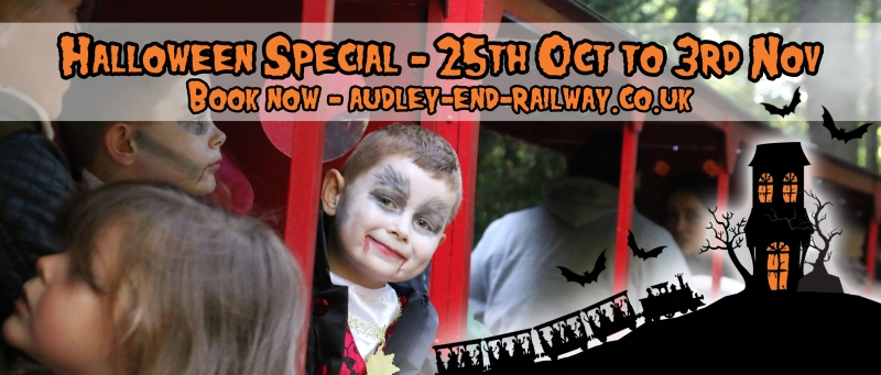 Photo of Audley End Miniature Railway Halloween Special 2019 Review