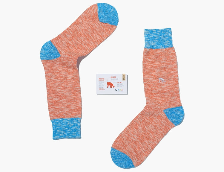 Photo of Critically Endangered Socks Borneo Orangutan Socks Review