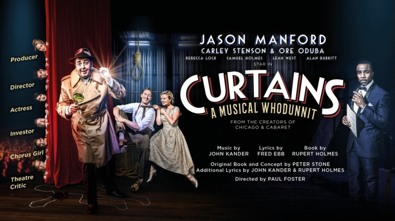 Photo of Curtains at the King's Theatre Glasgow Review