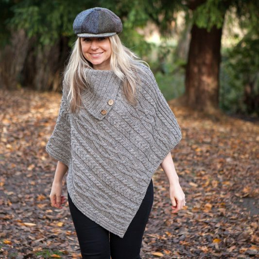 Photo of Glencroft Countrywear British Wool Ladies Aran Poncho Review