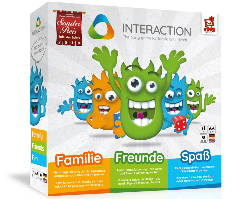 Photo of Interaction – No More Boredom Board Game Review