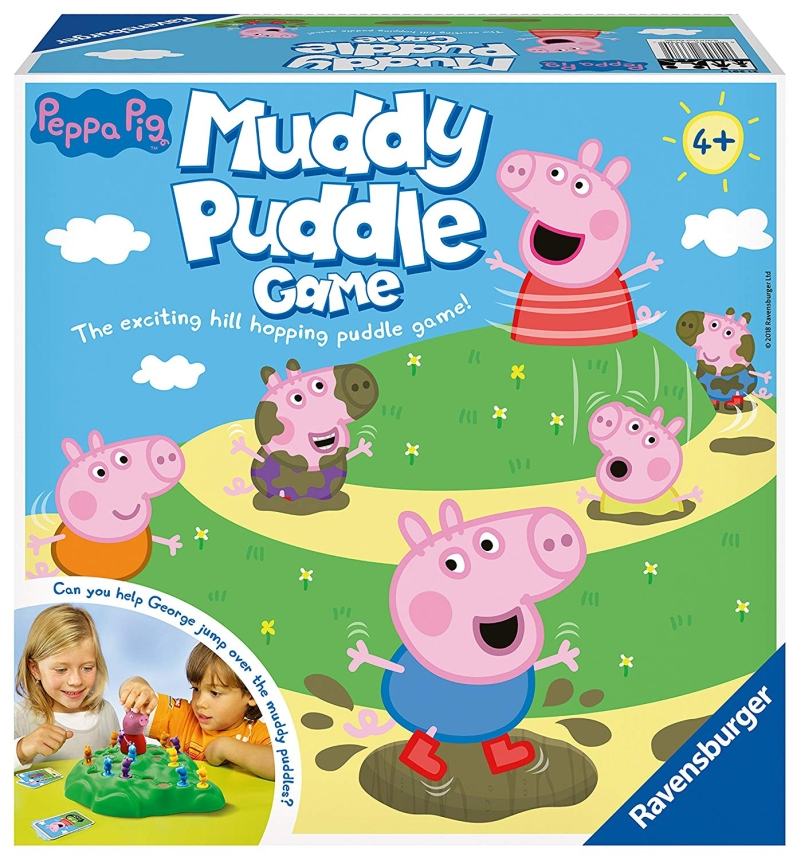 Photo of Ravensburger Peppa Pig's Muddy Puddle Game Review