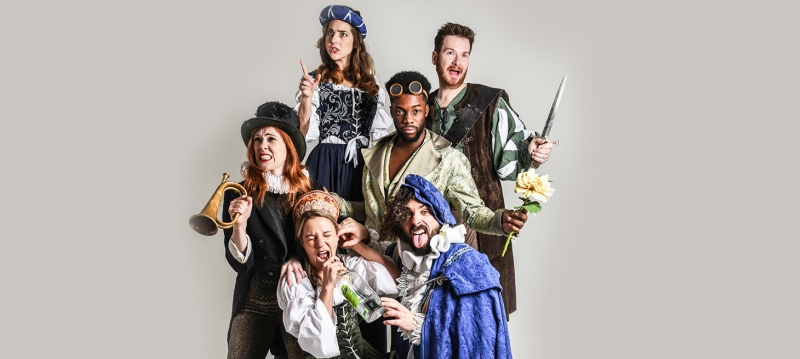 Photo of Sh*t-Faced Shakespeare: A Midsummer Night's Dream at The Hawth Crawley Review
