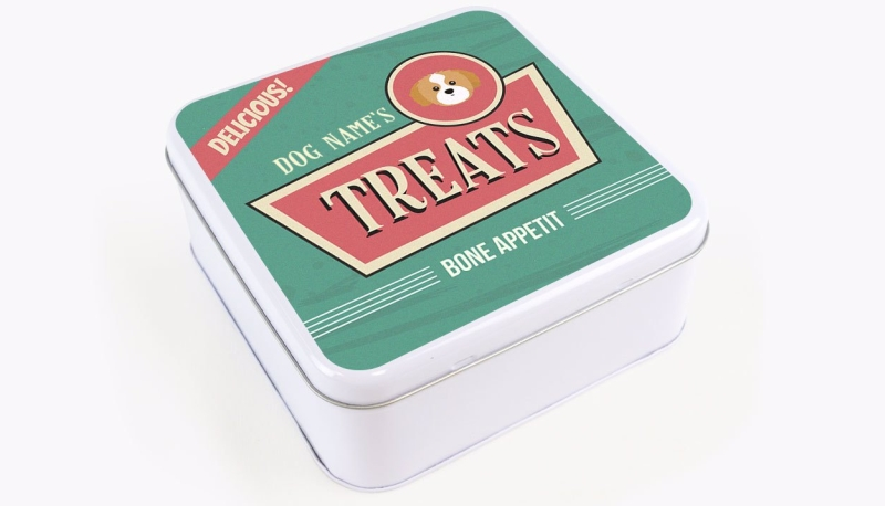 Photo of Yappy.com Personalised Retro Sign Design Square Tin Review