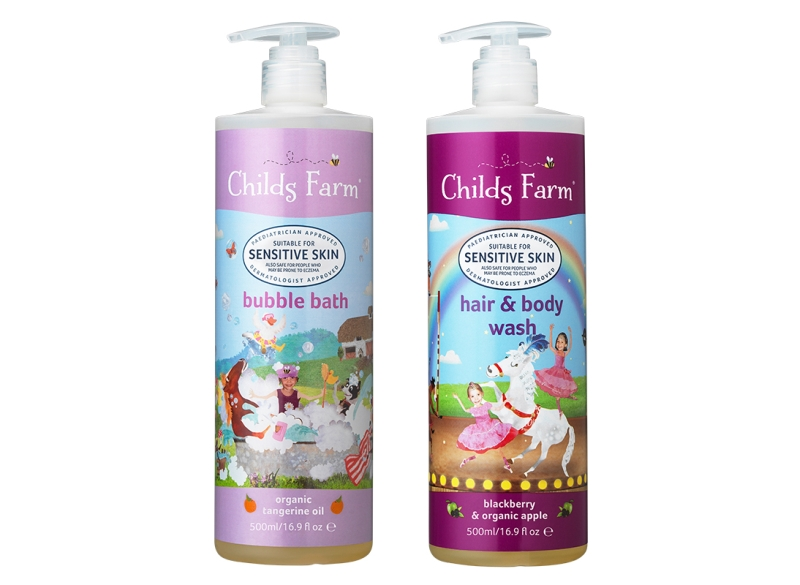 Photo of Childs Farm Body Wash and Bubble Bath Review