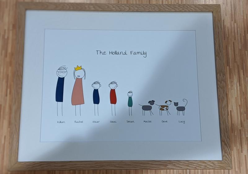 Photo of Posterhaste Family Portrait Framed Print Review