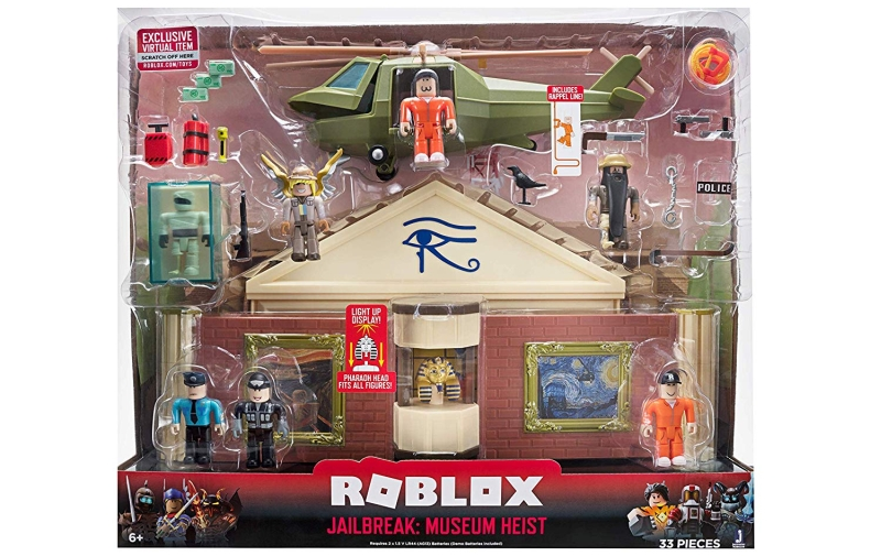 Roblox Jailbreak Museum Heist Playset Review What S Good To Do