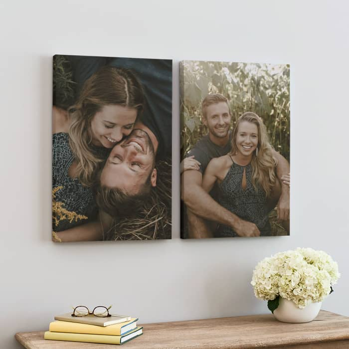 Photo of Vistaprint Canvas for Christmas Review