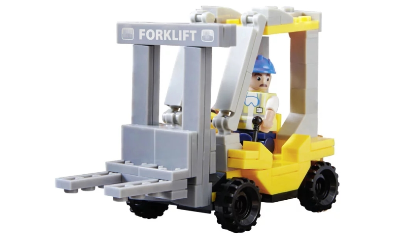 Photo of Wilko Blox Forklift Truck Small Set Review