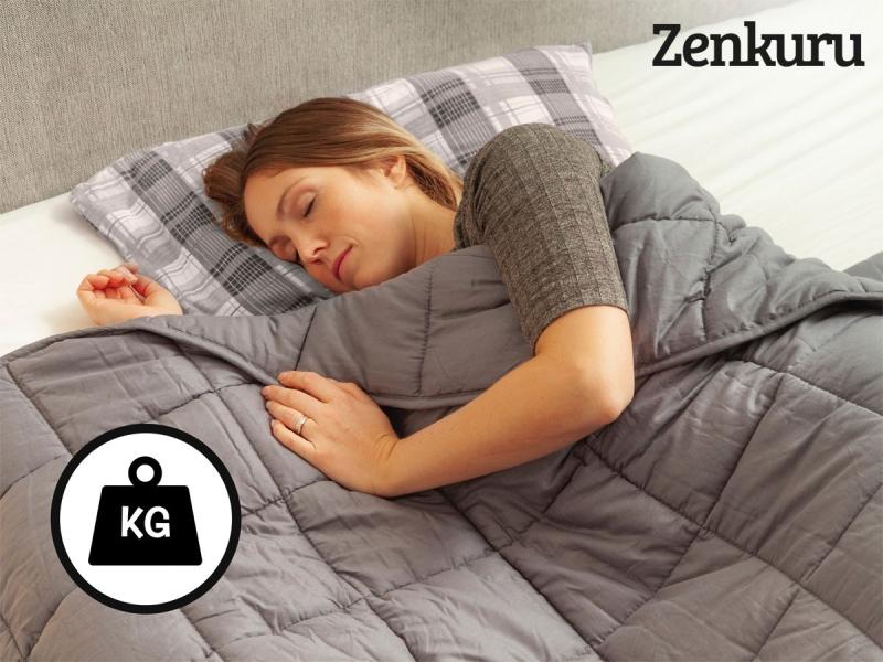 Photo of Zenkuru Weighted Blanket Review
