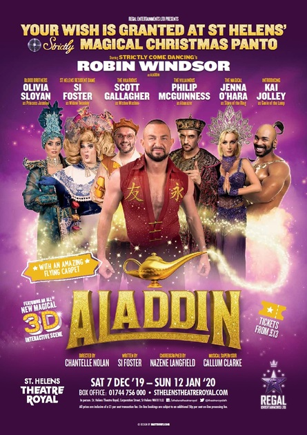 Photo of Aladdin at the St. Helens Theatre Royal Review