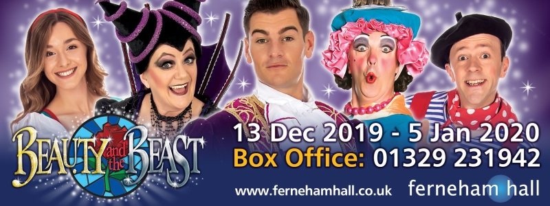 Photo of Beauty and the Beast at Ferneham Hall Fareham Review