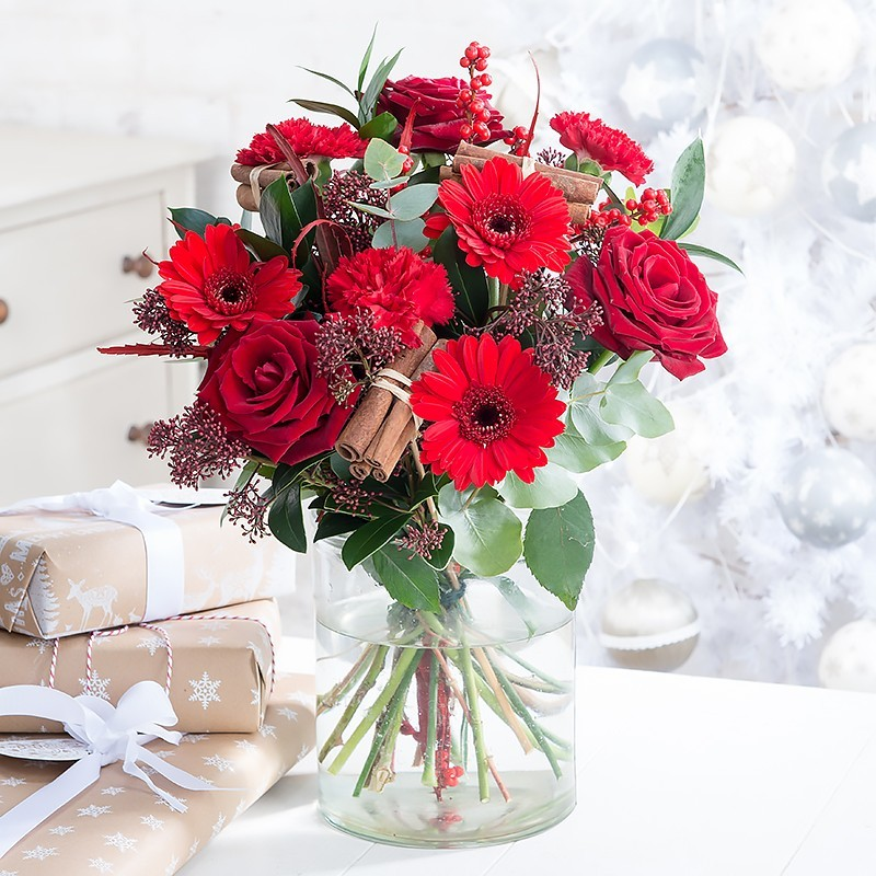 Photo of Blossoming Gifts Christmas Flowers Review