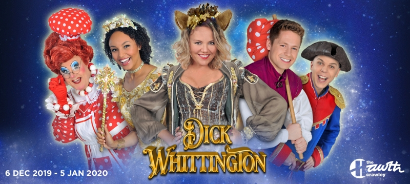 Photo of Dick Whittington at The Hawth Crawley Review