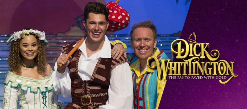 Photo of Dick Whittington at the Wycombe Swan Review