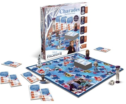 Frozen II Charades Board Game