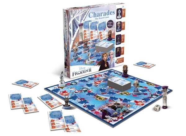 Photo of Frozen II Charades Board Game Review