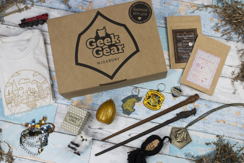 Photo of GeekGear Harry Potter Wizardry Subscription Box Review