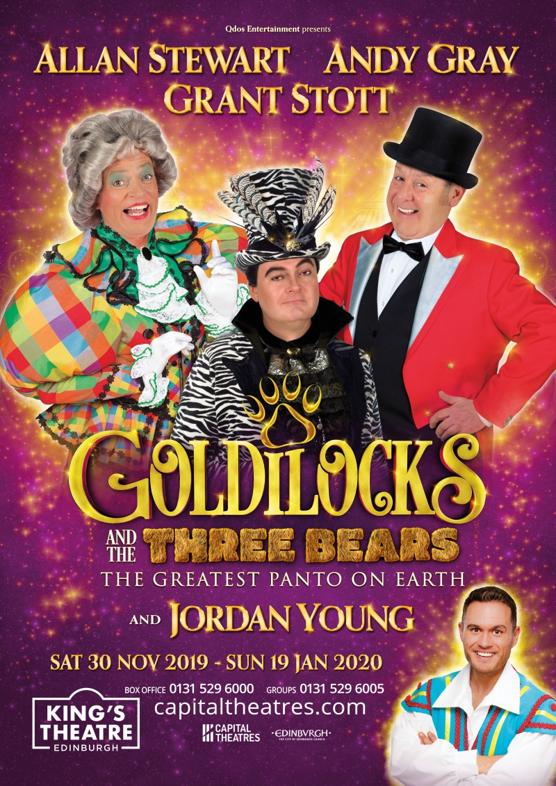 Photo of Goldilocks and The Three Bears at the King's Theatre Edinburgh Review