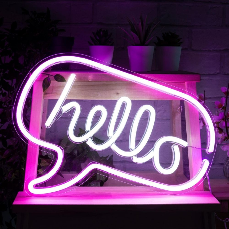 Photo of Yes I Want It Hello Neon Effect Light Review