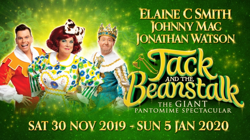 Photo of Jack and the Beanstalk at the King's Theatre Glasgow Review