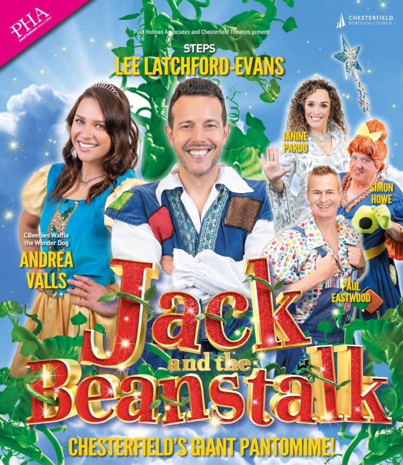 Photo of Jack and the Beanstalk at the Pomegranate Theatre Chesterfield Review
