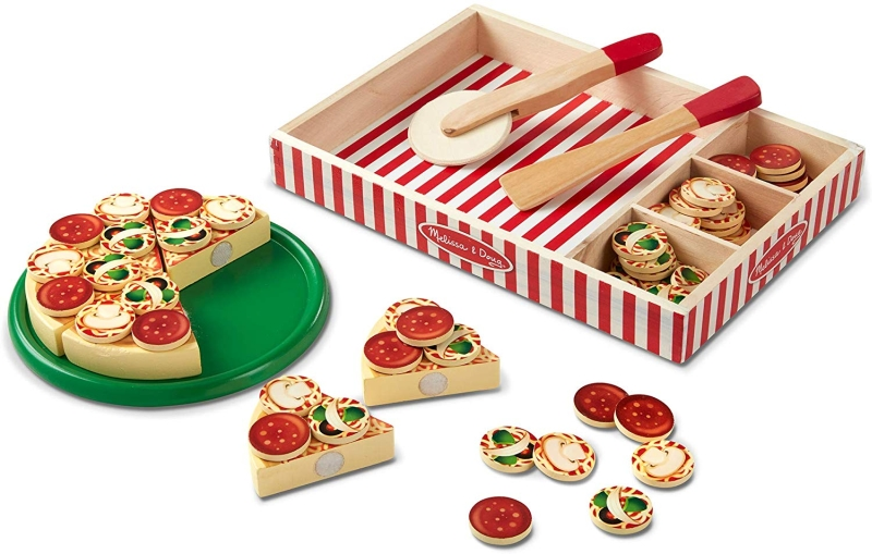 Photo of Melissa & Doug Wooden Pizza Party Set Review