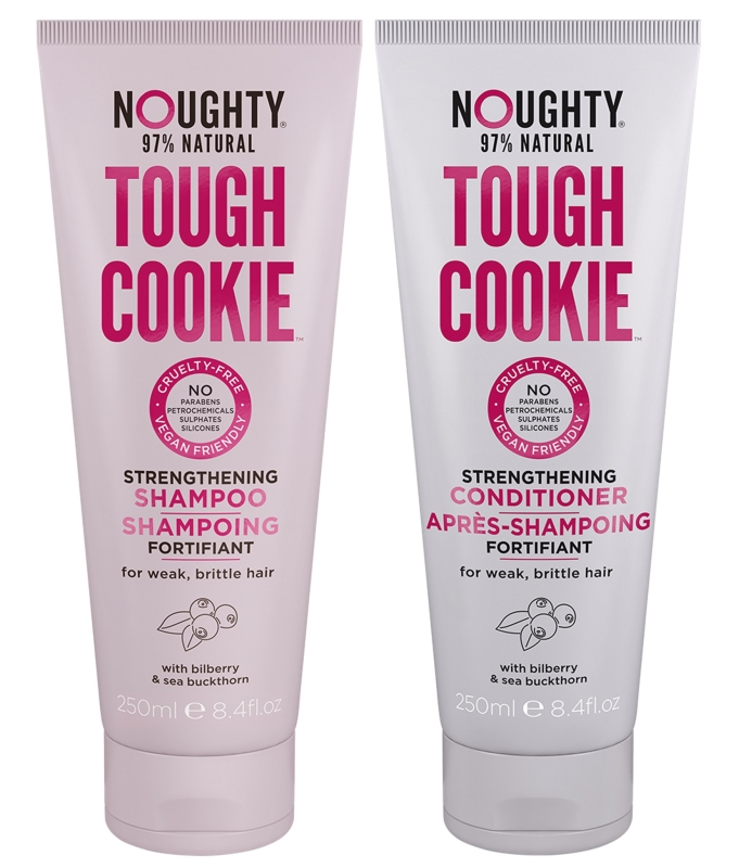 Photo of Noughty Tough Cookie Shampoo and Conditioner Review