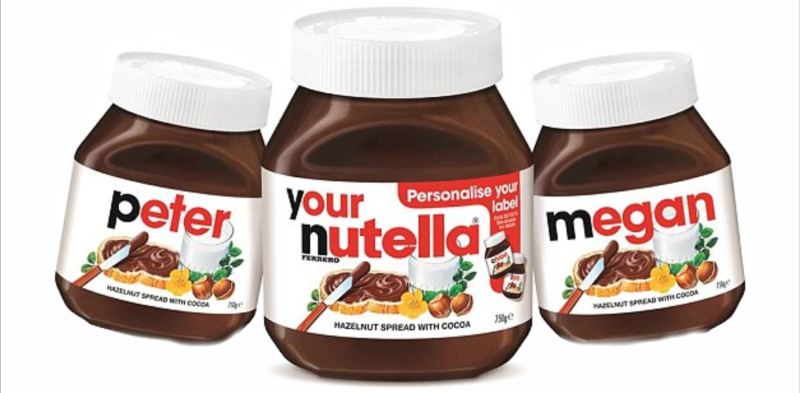 Photo of Personalised Jar of Nutella Review
