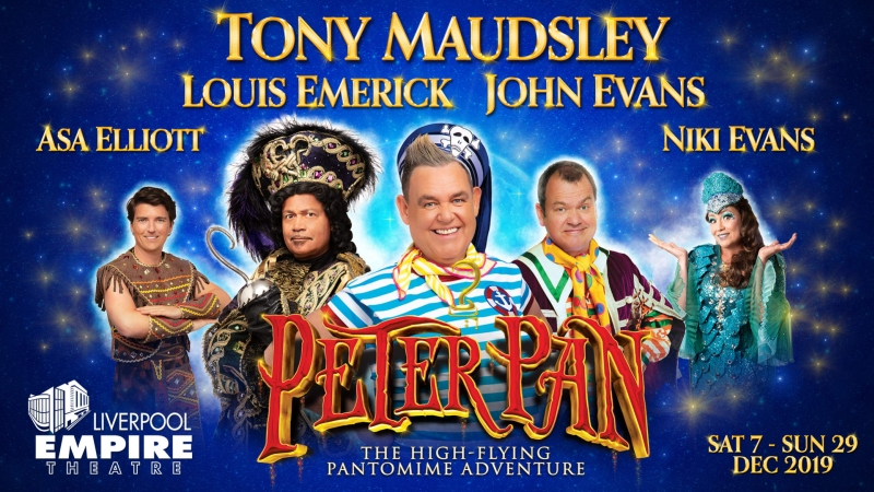 Photo of Peter Pan at the Liverpool Empire Review