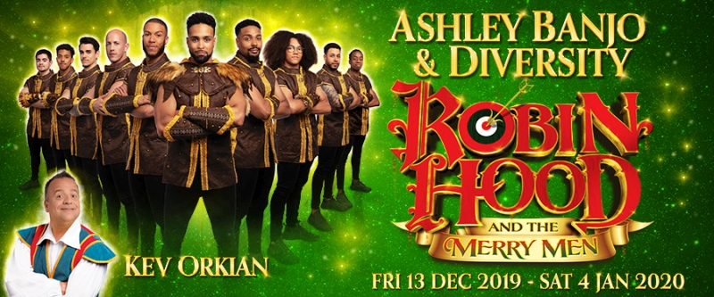 Photo of Robin Hood and The Merry Men at the Cliffs Pavilion Southend Review