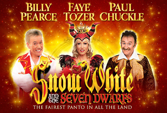 Photo of Snow White and the Seven Dwarfs at the Alhambra Theatre Bradford Review