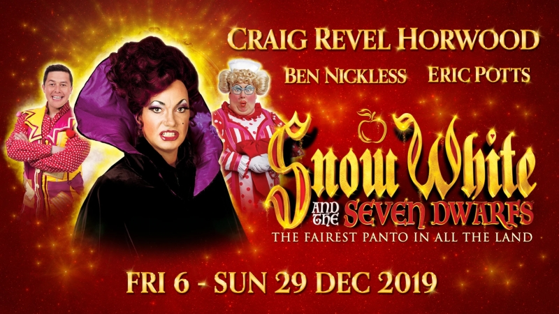 Photo of Snow White and the Seven Dwarfs at the Opera House Manchester Review