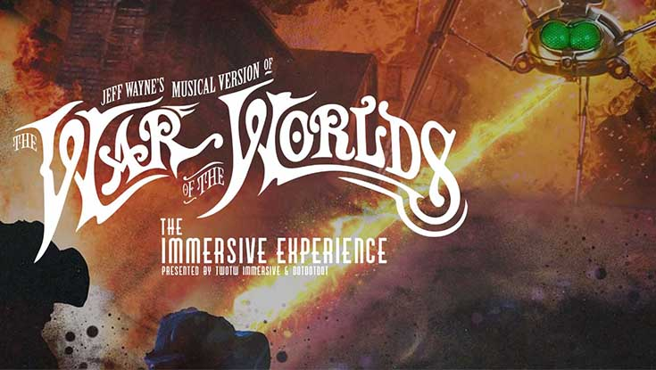 Photo of The War of the Worlds Immersive Experience Review