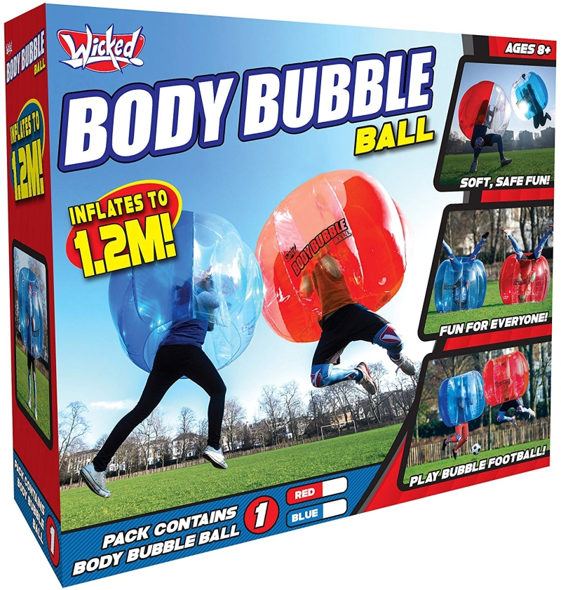 Photo of Wicked Toys Body Bubble Ball Review