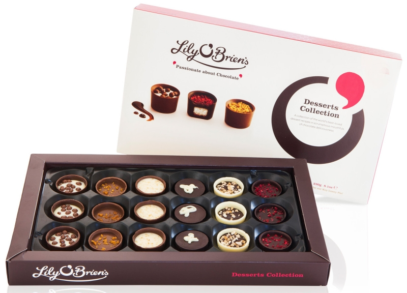 Photo of Lily O'Brien's Chocolate Desserts Collection Review