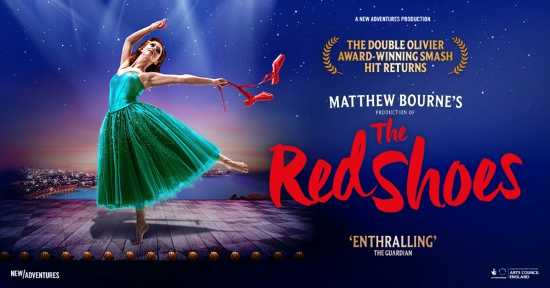 Photo of Matthew Bourne's The Red Shoes at the New Victoria Theatre Woking Review
