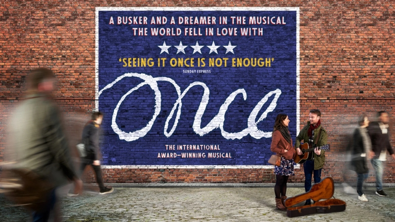 Photo of Once at the Belgrade Theatre Coventry Review