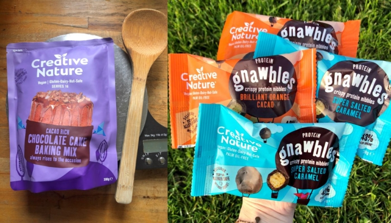 Photo of Creative Nature Cacao Rich Chocolate Cake Baking Mix and Protein Gnawbles Review