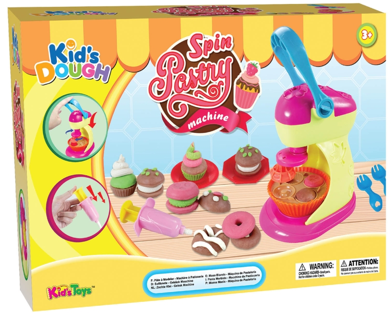 Photo of Kid's Dough Spin Pastry Machine Review