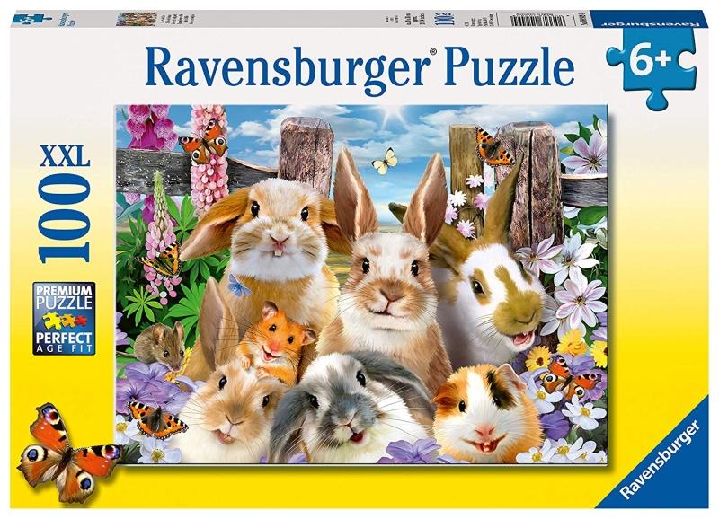 Photo of Ravensburger Rabbit Selfie Jigsaw Puzzle Review
